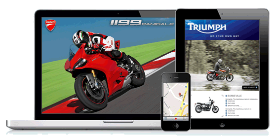 motorcycle dealer websites